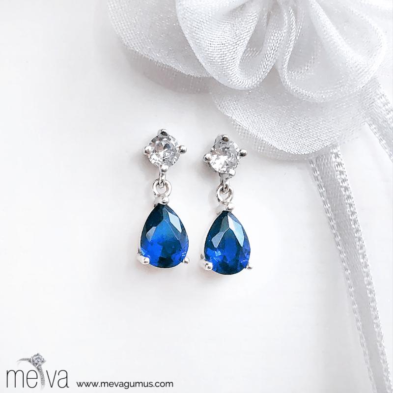 Sapphire Model Kadın Gümüş Küpe 1-model-mavi-zirkon-tasli-kadin-civili-gumus-kupe-1