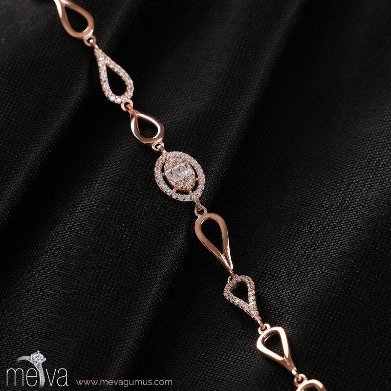 Seren Model Kadın Gümüş Bileklik 2