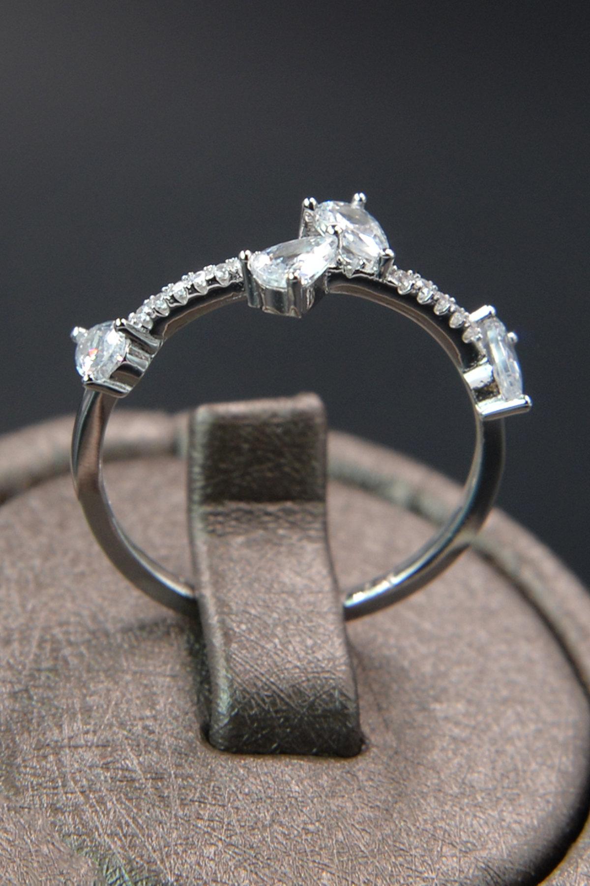 Hiedra Model Kadın Gümüş Yüzük 3