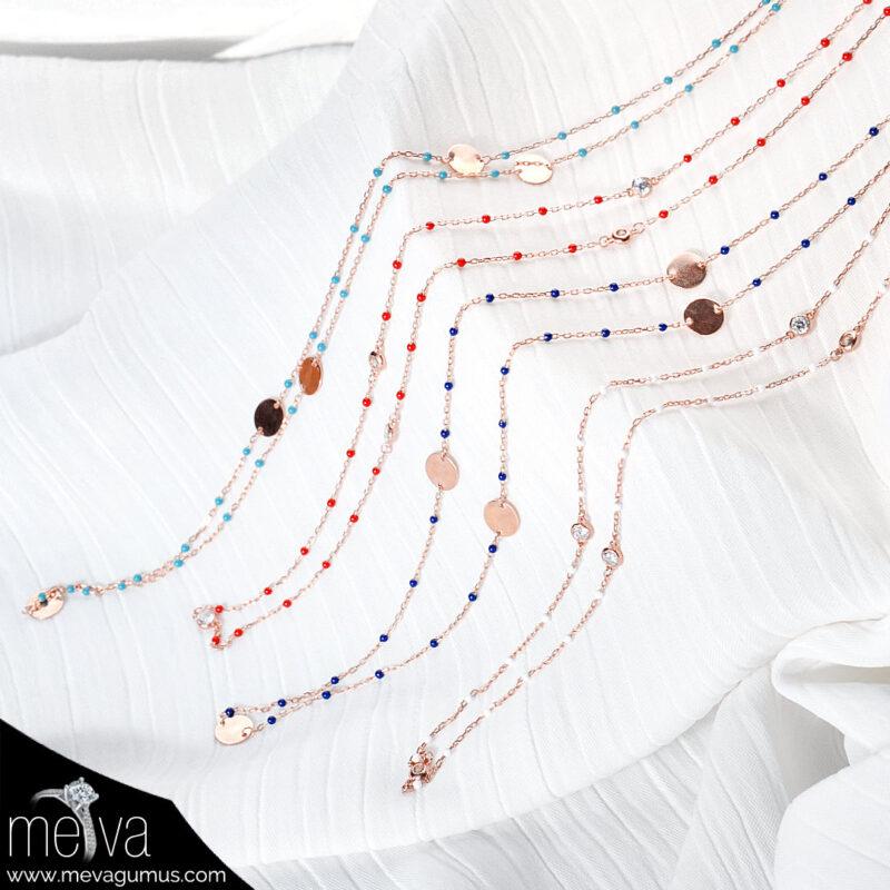Astera Model Kadın Gümüş Kolye 1