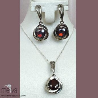 Scarlet Model Kadın Gümüş Set 2